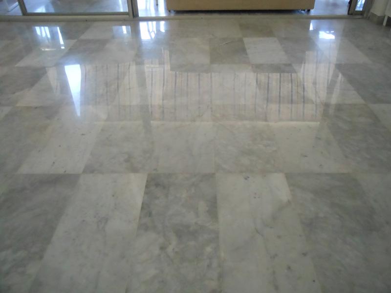 Poncage de marbre